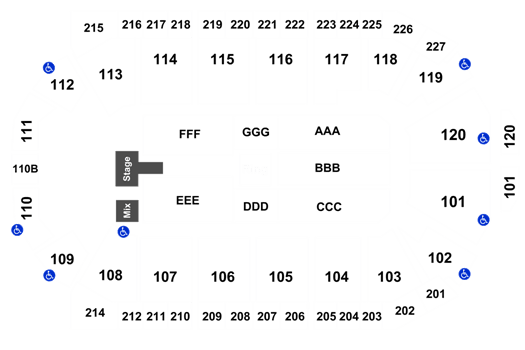 WWE: Live 1stBank Center, Broomfield, CO Tickets, Schedule