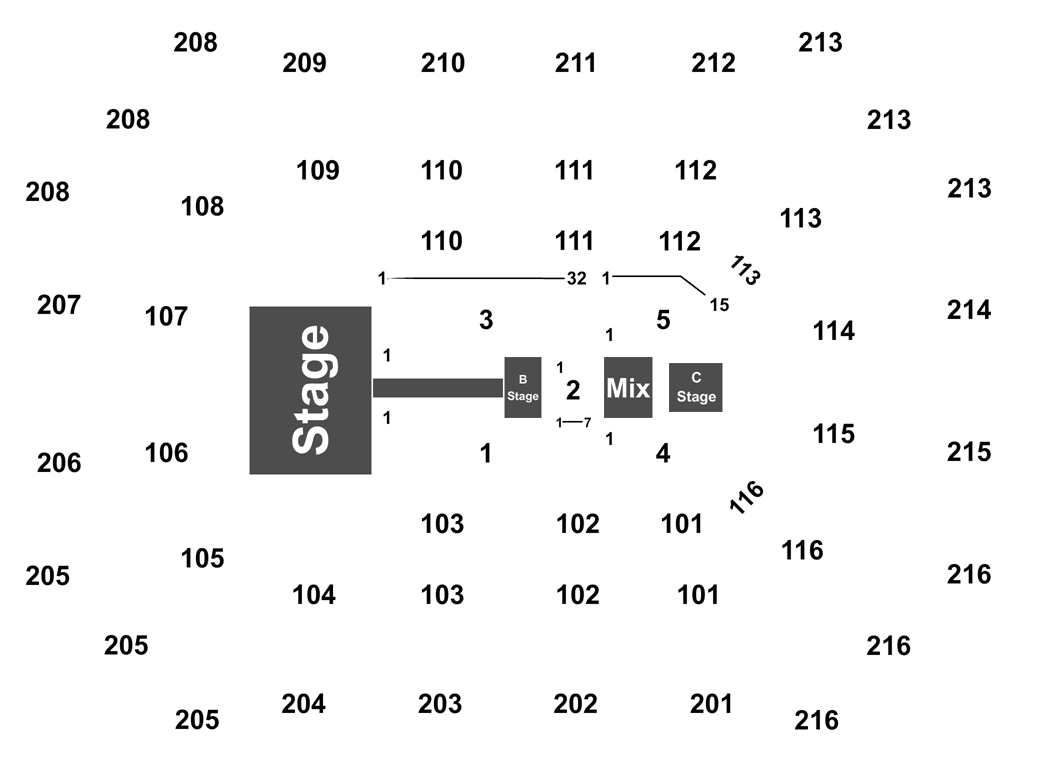 Mana Allstate Arena Tickets - Oct 11th, 2019 on