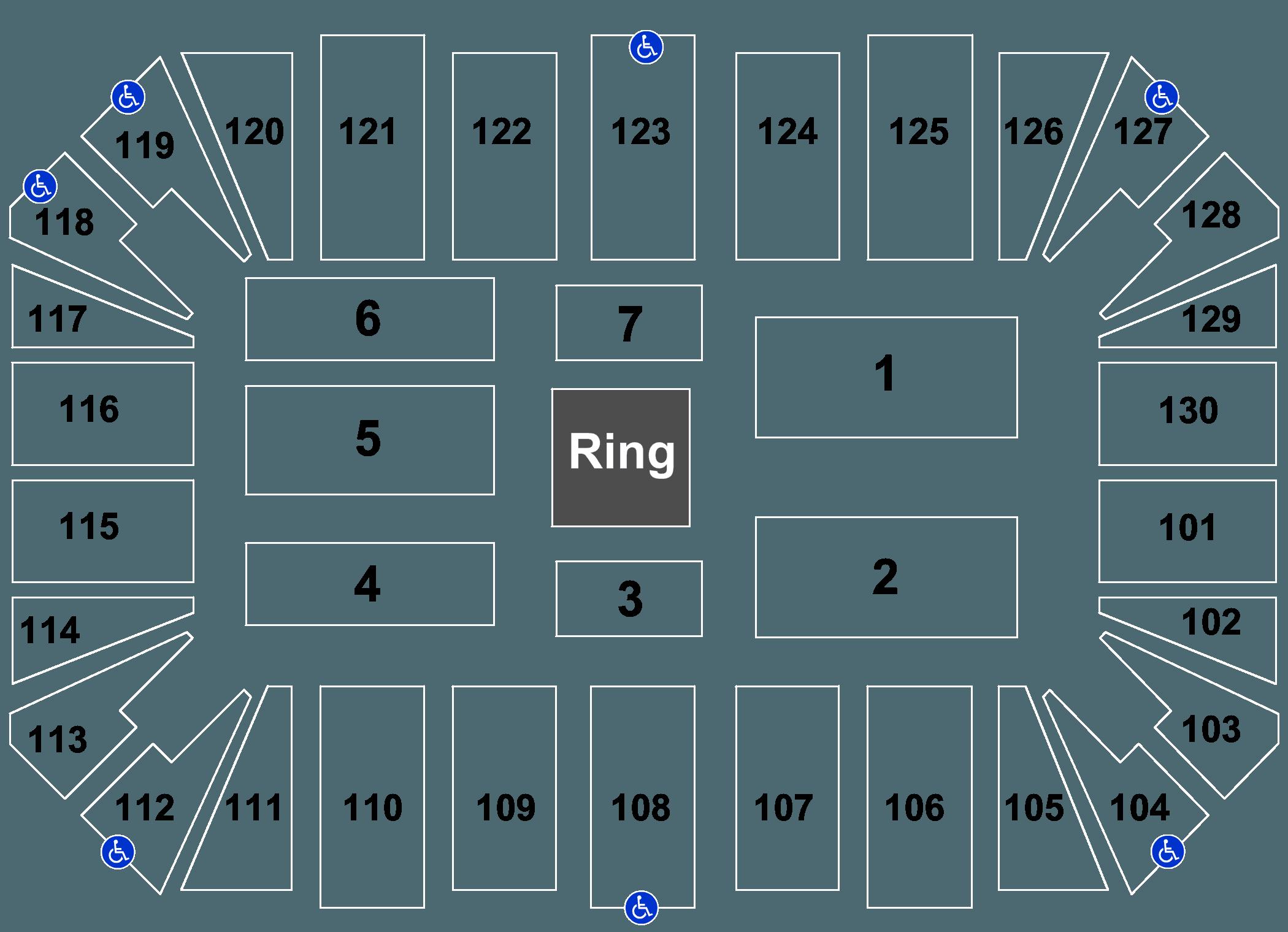 WWE: Live Amarillo Civic Center, Amarillo, TX Tickets
