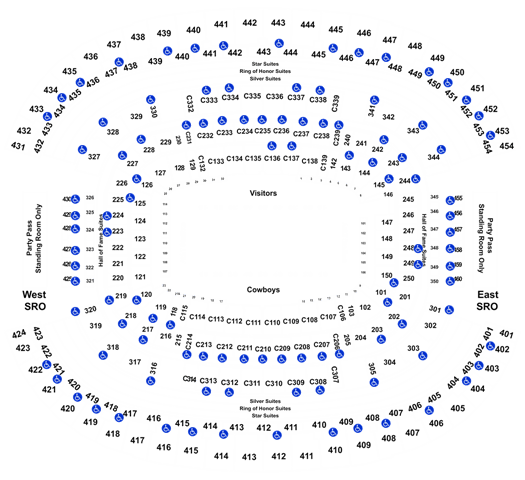 Dallas Cowboys Vs Philadelphia Eagles Tickets Sun Oct 20