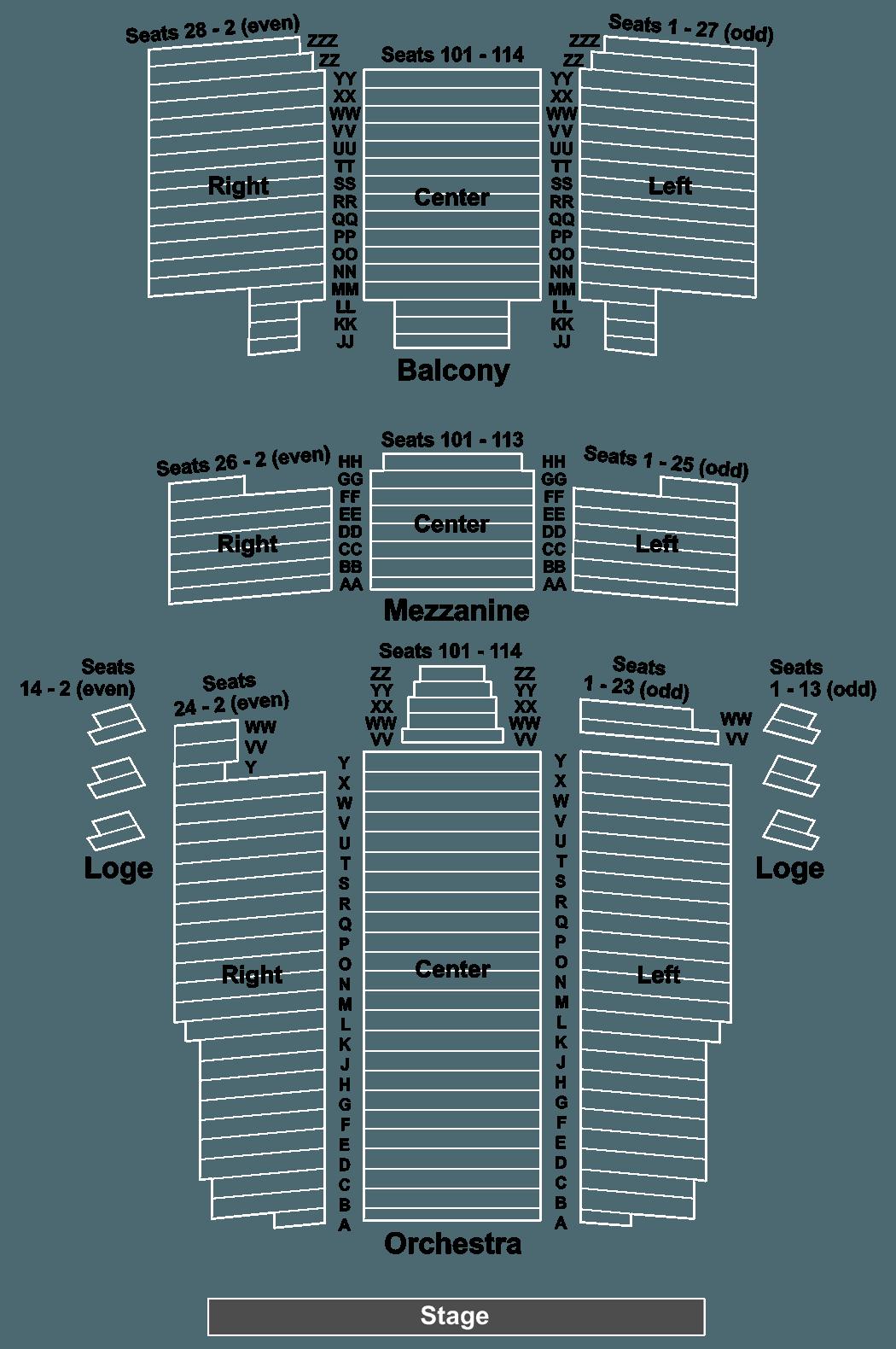 Barbara B Mann Interactive Seating Chart Brokeasshome Com
