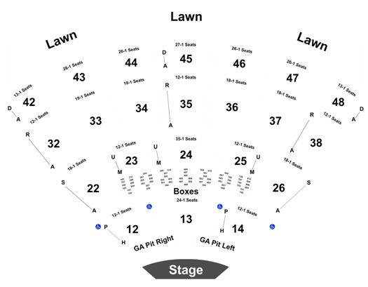 Luke Bryan Cole Swindell Jon Langston Tickets Blossom