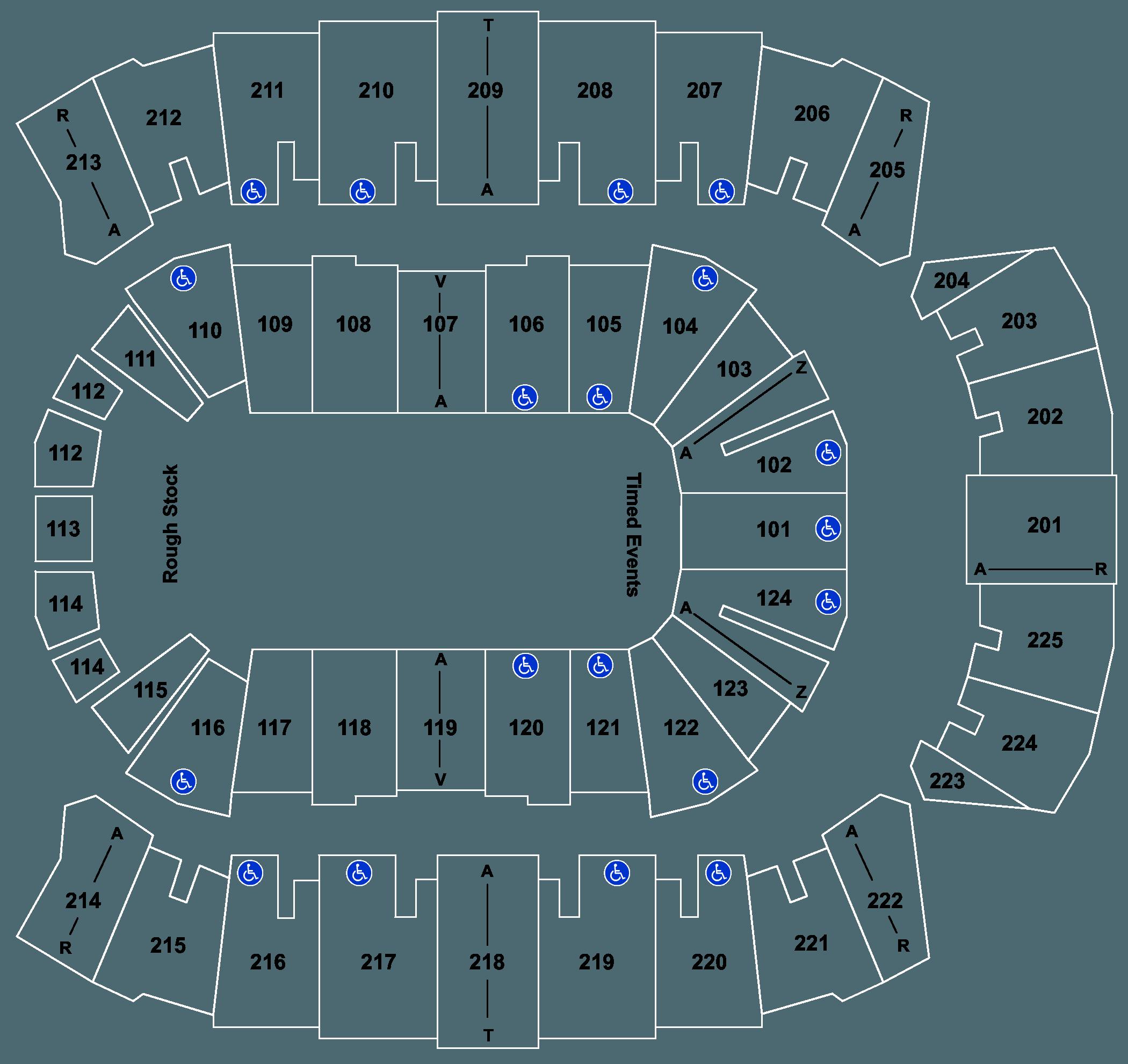 Centurylink Center Bossier Seating Chart