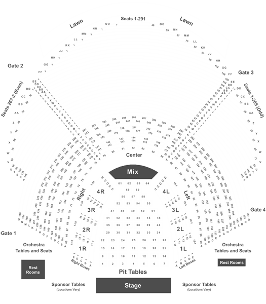 Weird Al Yankovic Tickets Sun Jun 30 2019 At 800pm In Atlanta. Weird Al Yankovic Tickets Sun Jun 30 2019 At 800pm In Atlanta Front Row Seats. Seat. Chastain Park Seating Diagram At Scoala.co