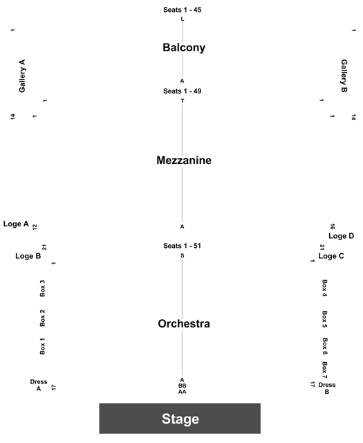devos hall seating chart