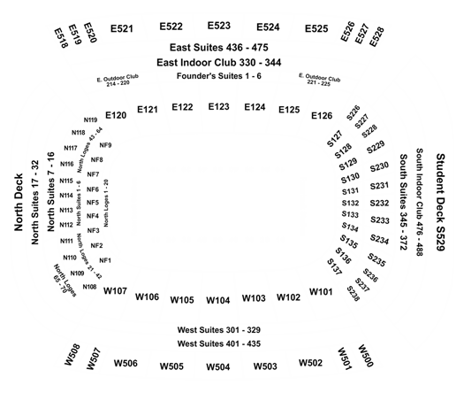 Rrs Razorback Stadium Seating Chart