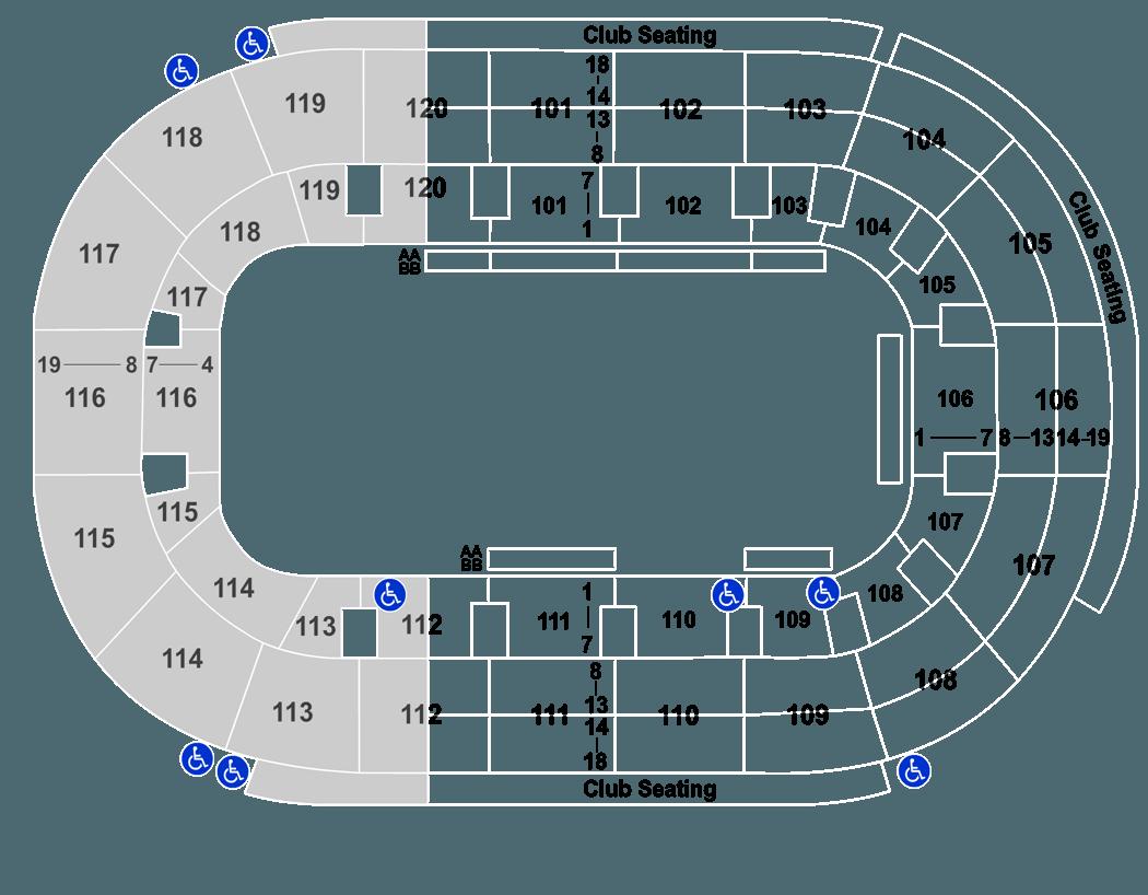 Germain Arena Seating Chart Frozen On Ice Brokeasshome Com