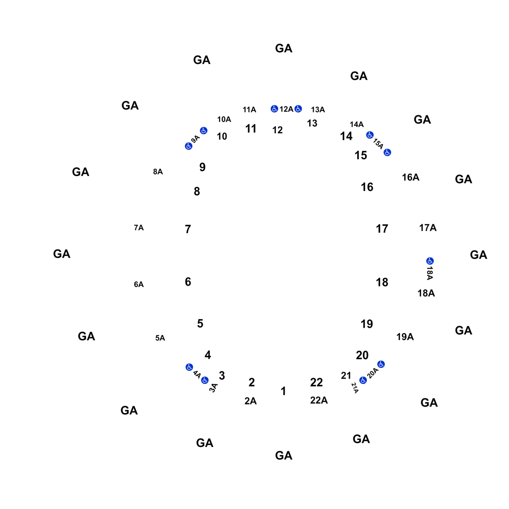 US Open Tennis Championship Session MensWomens St Round - Us open tennis center map
