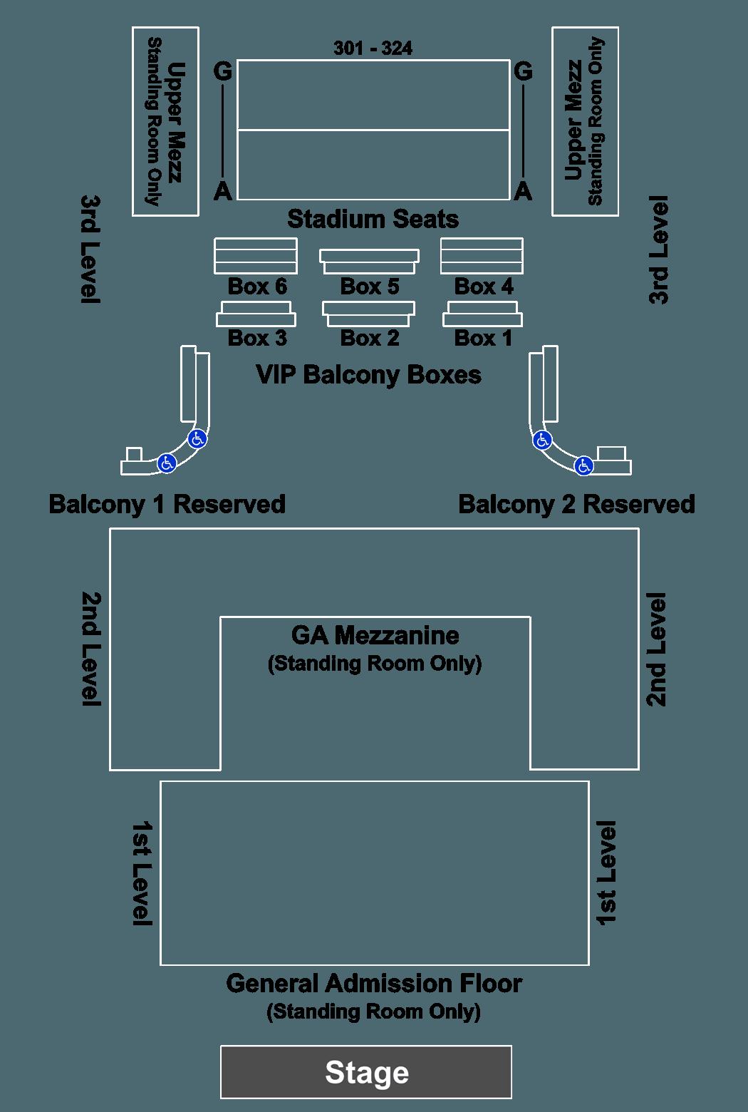 Greta Van Fleet Tickets 723 – House Of Blues Boston Floor Plan