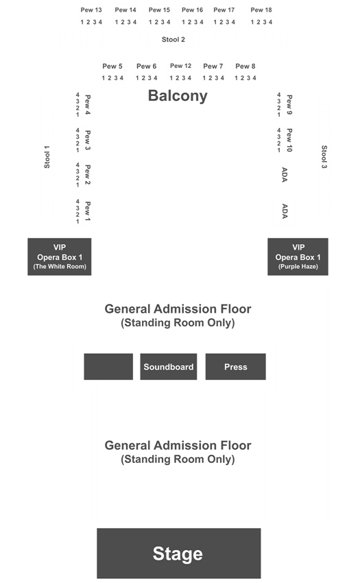 house of blues north myrtle beach seating chart