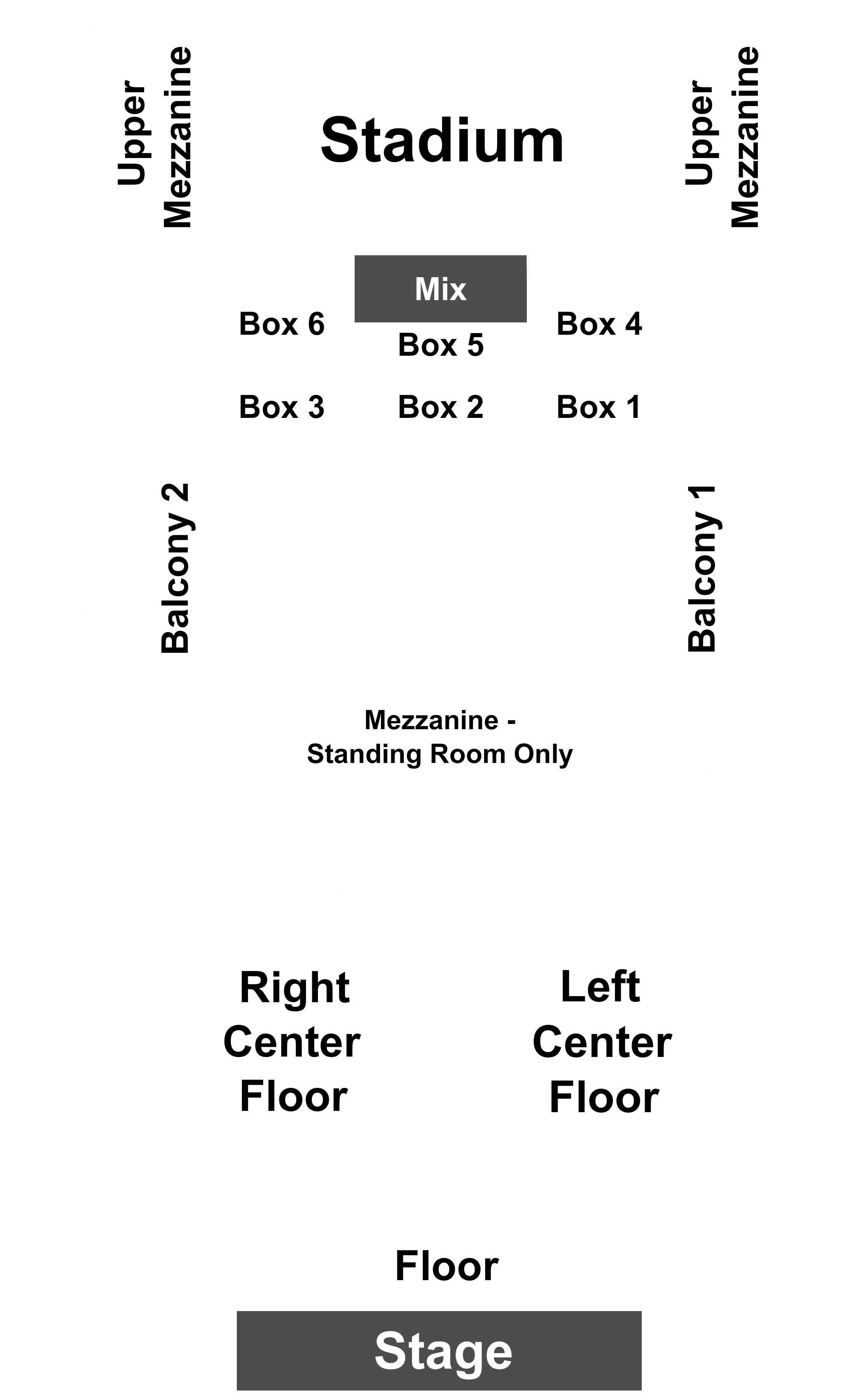 War On The Catwalk at House Of Blues Boston on 09142018 800PM – House Of Blues Boston Floor Plan