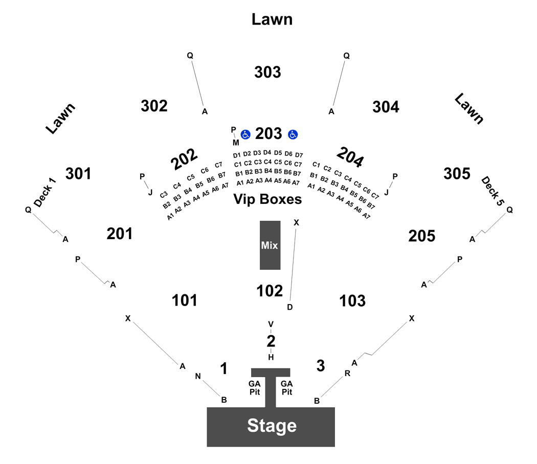 Jiffy Lube Live Seating Chart Ticket Solutions