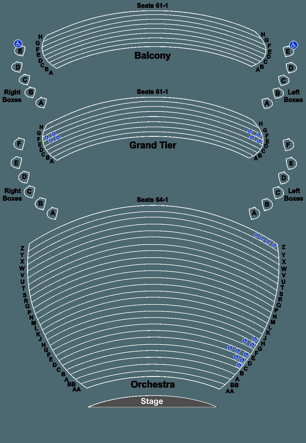 Hamilton Tickets At Whitney Hall At The Kentucky Center On 0620