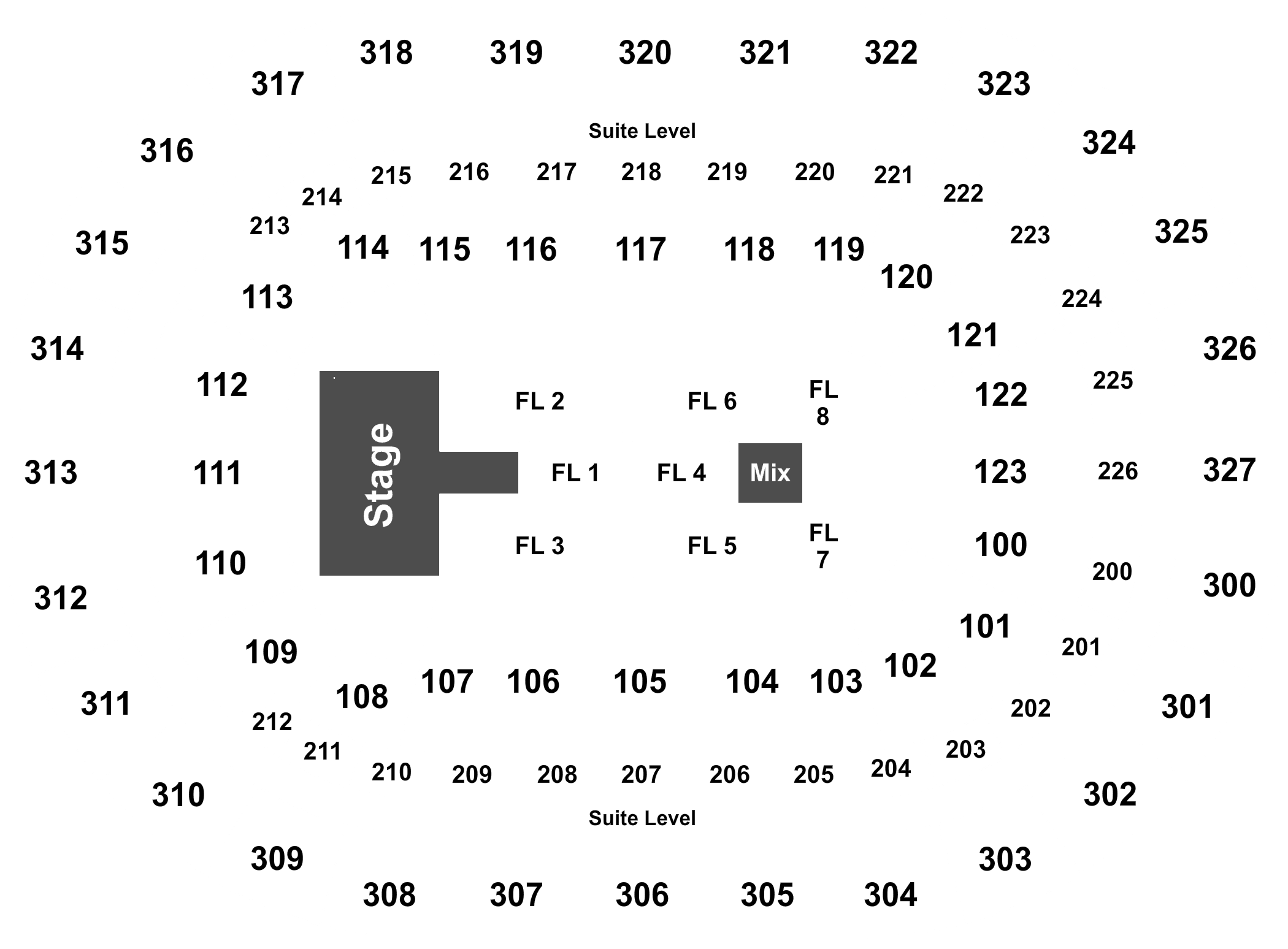 Journey def leppard tickets at first niagara center on may 26 full map kristyandbryce Choice Image