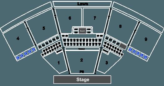 keybank pavilion schedule 2020