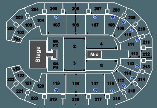 Godsmack Halestorm Landers Center 5 October 2019