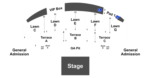 Brothers Osborne Mcgrath Amphitheatre 31 August 2019