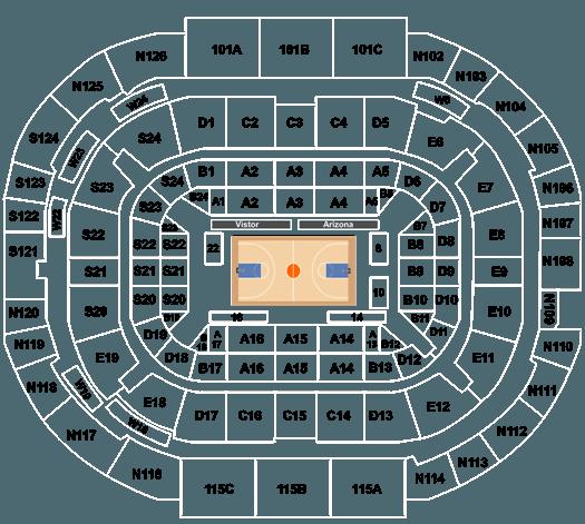Arizona Wildcats Vs Utah Utes Tickets At Mckale Center On