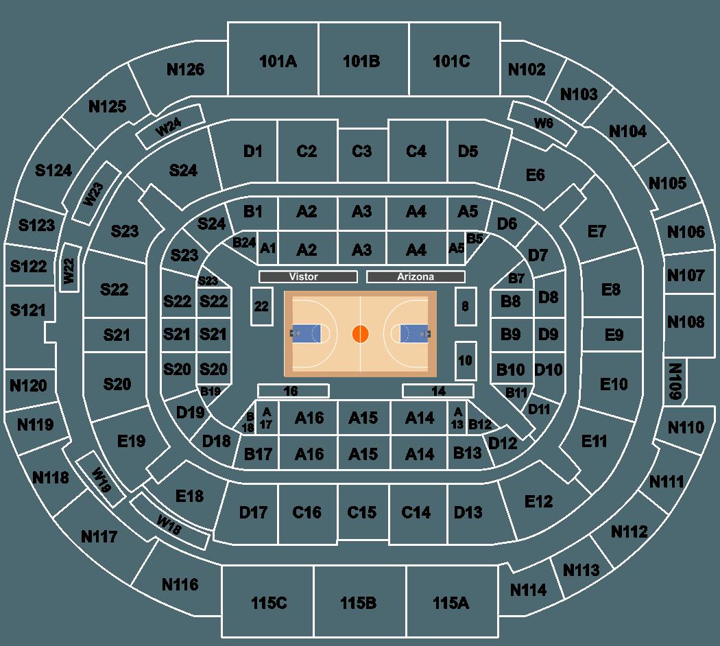 Arizona wildcats basketball redblue game tickets mckale center legend ccuart Gallery