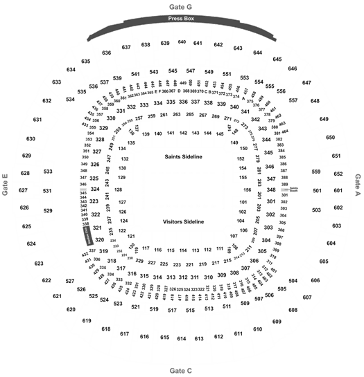 Saints Vs 49ers Tickets Dec 8 Cheaptickets