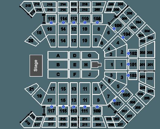 Andrea Bocelli - Las Vegas, 12/07/2019 at MGM Grand Garden
