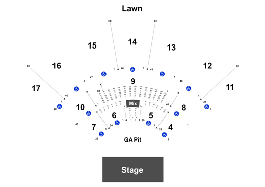Florida State Fairgrounds Map.Hillsong United Midflorida Credit Union Amphitheatre At The Florida