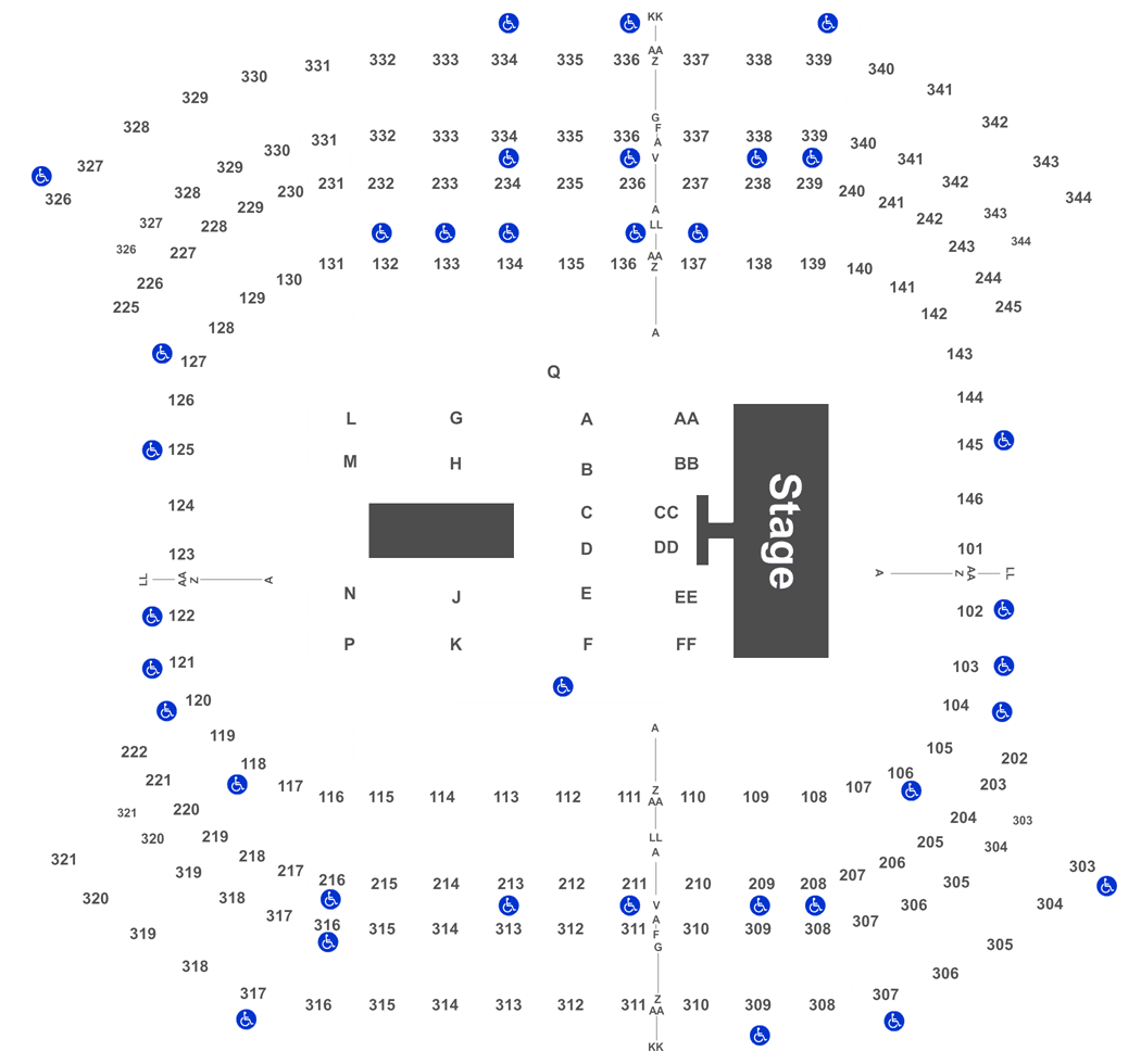 2018 cma music festival 4 day pass tickets nissan stadium full map falaconquin