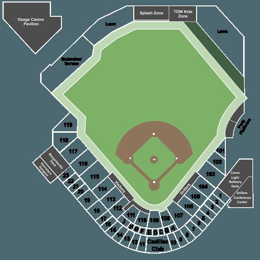 Tulsa Drillers Vs Springfield Cardinals Tickets On 080719