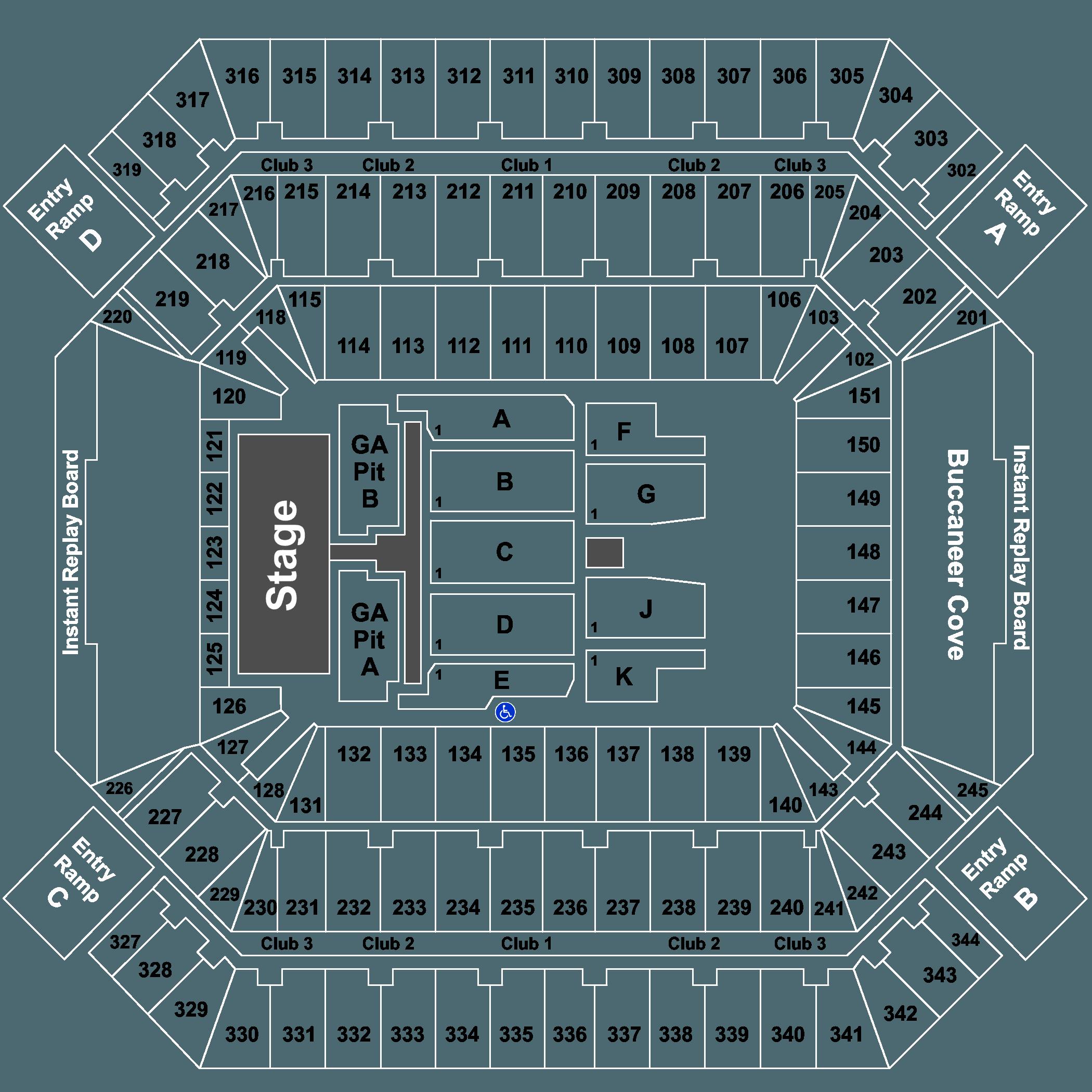 Tickets for luke bryan sam hunt jon pardi 06232018 400pm full map kristyandbryce Image collections