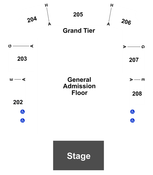 Ajr At Revention Music Center On 10312019 730pm Tickets Seating
