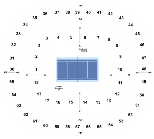 Australian Open 1st Round Singles Day Session Tickets Mon