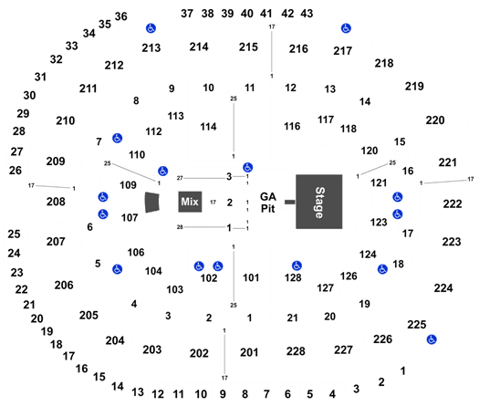 Luke Combs Tickets at SAP Center | Tickets For Less on hp center map, xcel center map, nokia center map, embarcadero center map, us airways center map, peachtree center map, nrg center map, oracle center map, moda center map, san jose event center map, at&t center map, verizon center map, first niagara center map,