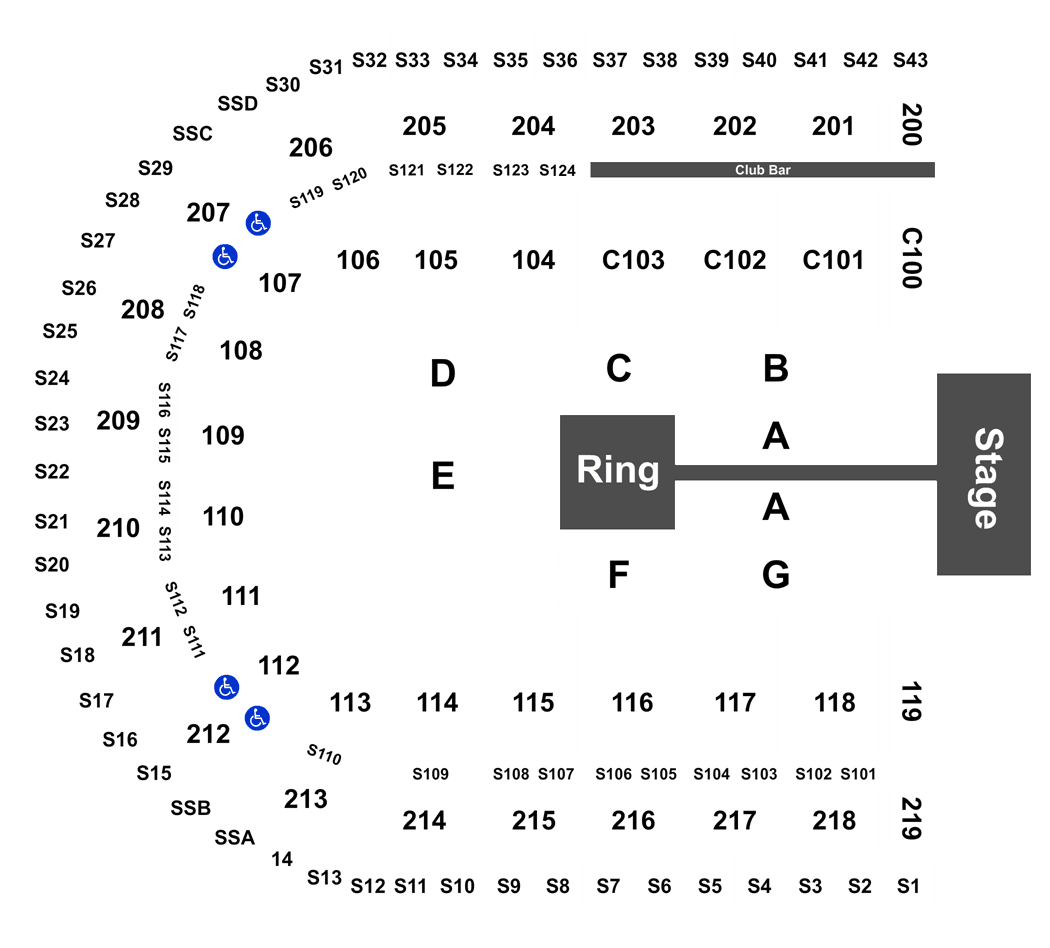 All In Wrestling tickets at Sears Centre Arena on September 01, 2018 ...