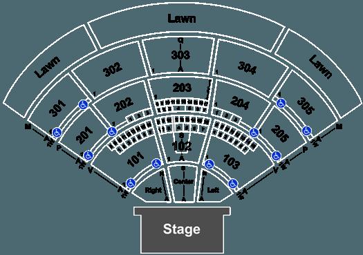 Mattress Firm Amphitheatre Seating Map Sante Blog