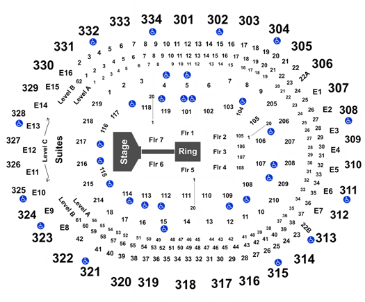 WWE: Smackdown Staples Center, Los Angeles, CA Tickets