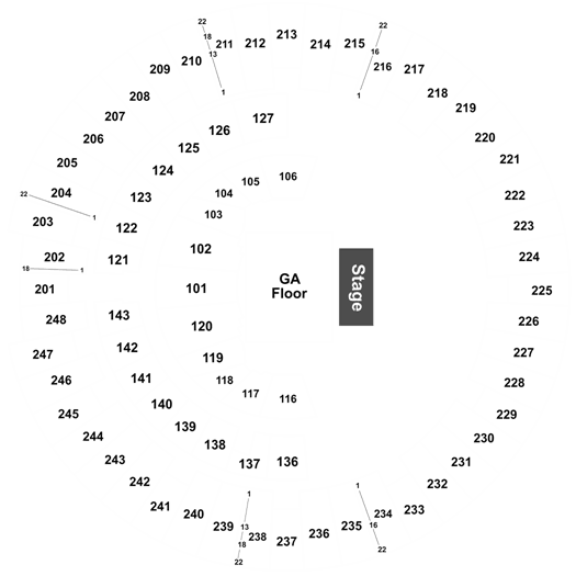 The Head and The , State Farm Center, 14 September 2019 State Farm Center Map on wells fargo center map, safeco center map, ford center map, wachovia center map,