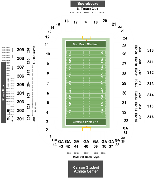 Arizona State Sun Devils Football Vs Oregon Ducks Football Tickets