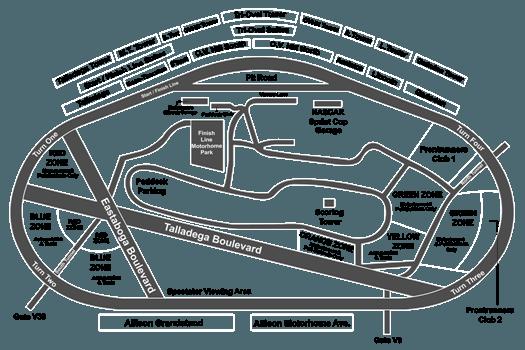 Monster Energy Nascar Cup Series 1000bulbscom 500 Talladega 10