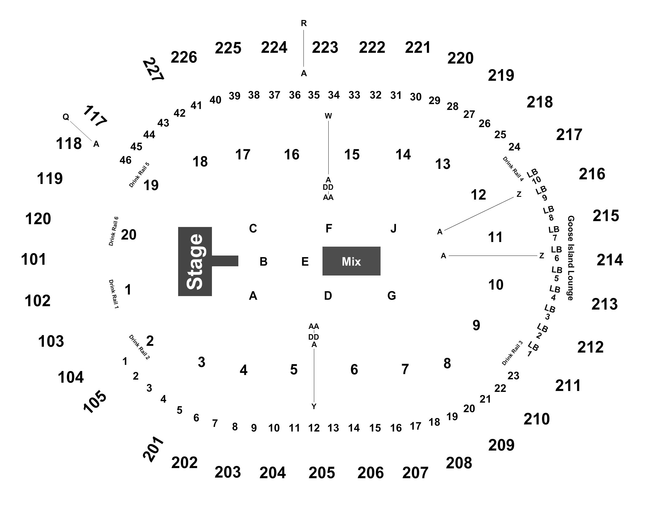 Journey def leppard tickets at t mobile arena on sept 8 2018 full map kristyandbryce Choice Image