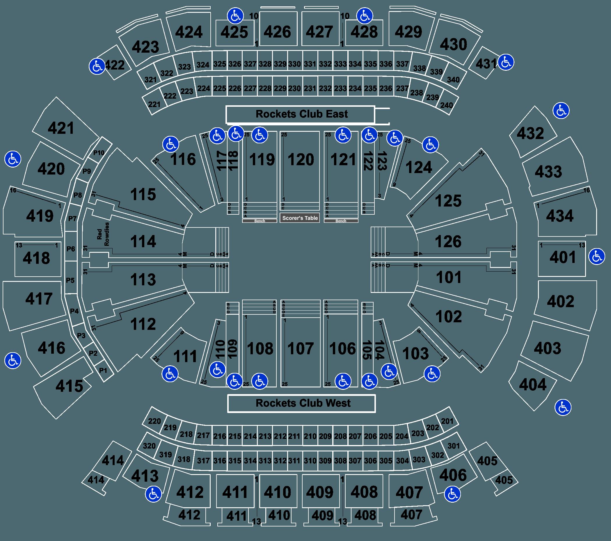 Se season tickets for houston rockets - Full Map