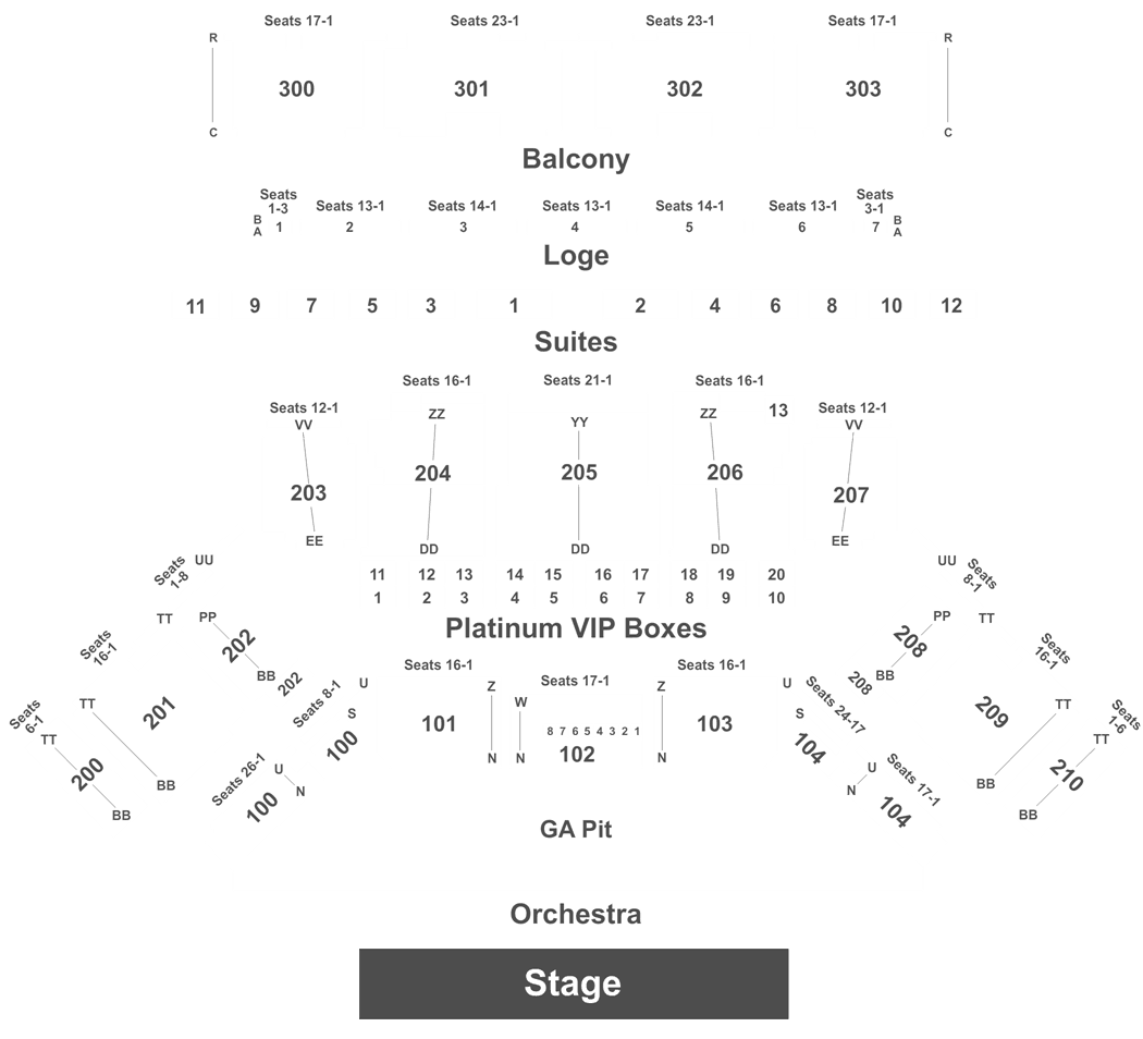 Oakdale Theatre Seating Map Brokeasshome Com
