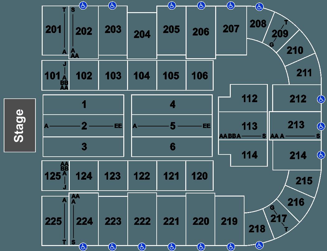 Ua Centennial Hall Seating Chart Brokeasshome Com