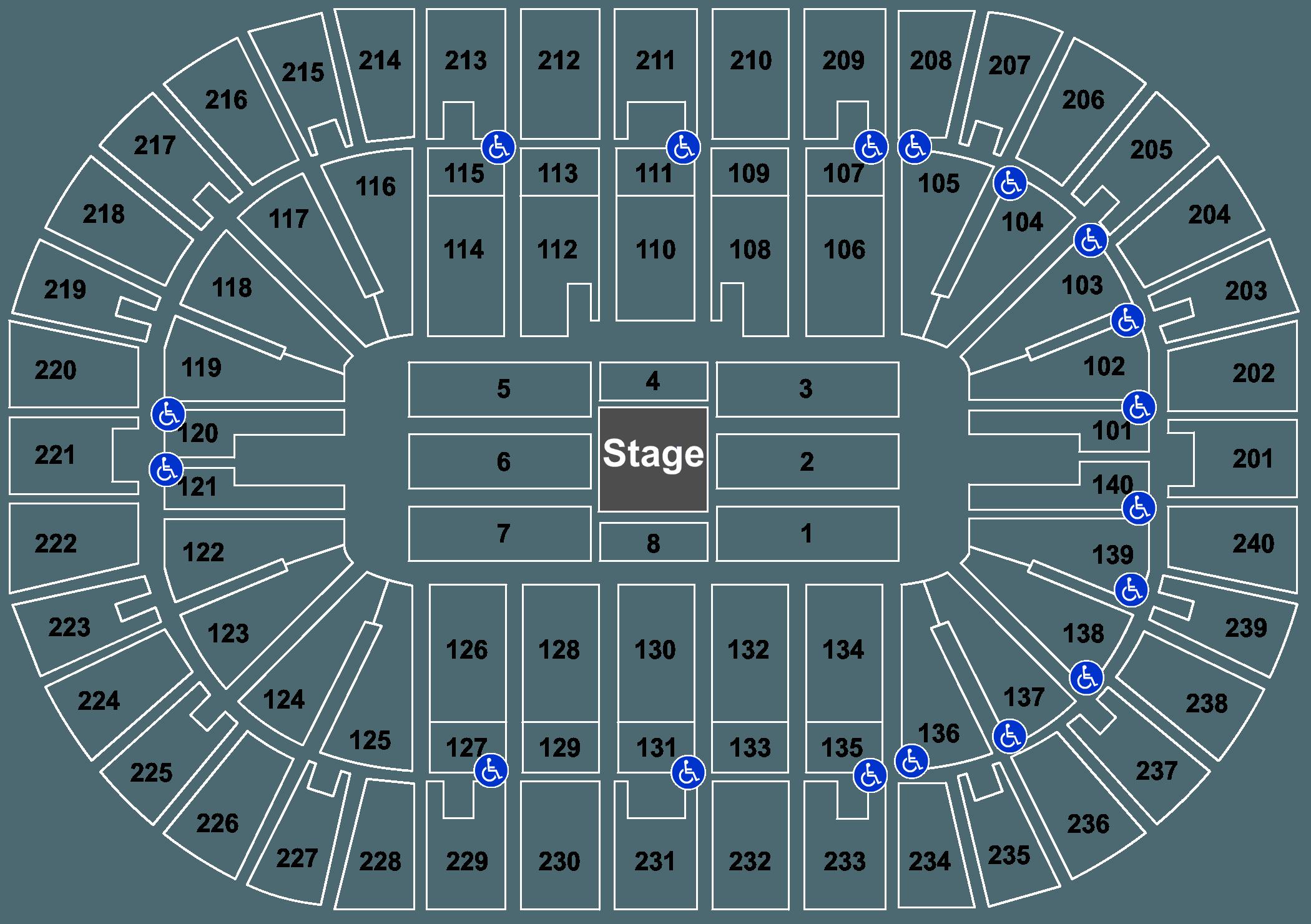 Jim Gaffigan US Bank Arena In Cincinnati OH US Bank Arena - Us bank arena cincinnati map