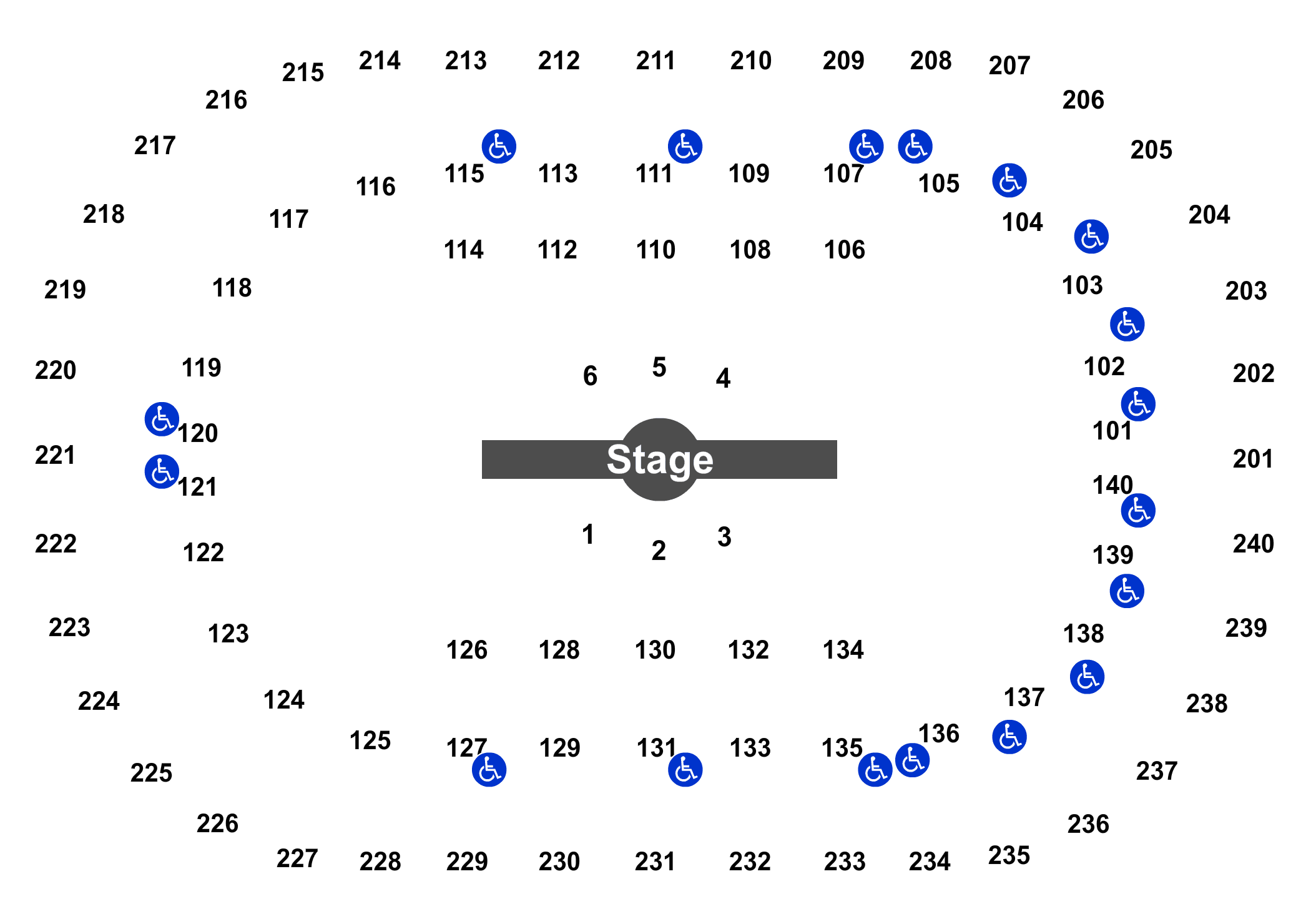 Cirque Du Soleil Corteo Tickets At US Bank Arena On - Map us bank arena