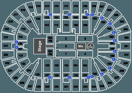 Imagine Dragons US Bank Arena In Cincinnati OH US Bank Arena - Us bank arena cincinnati map