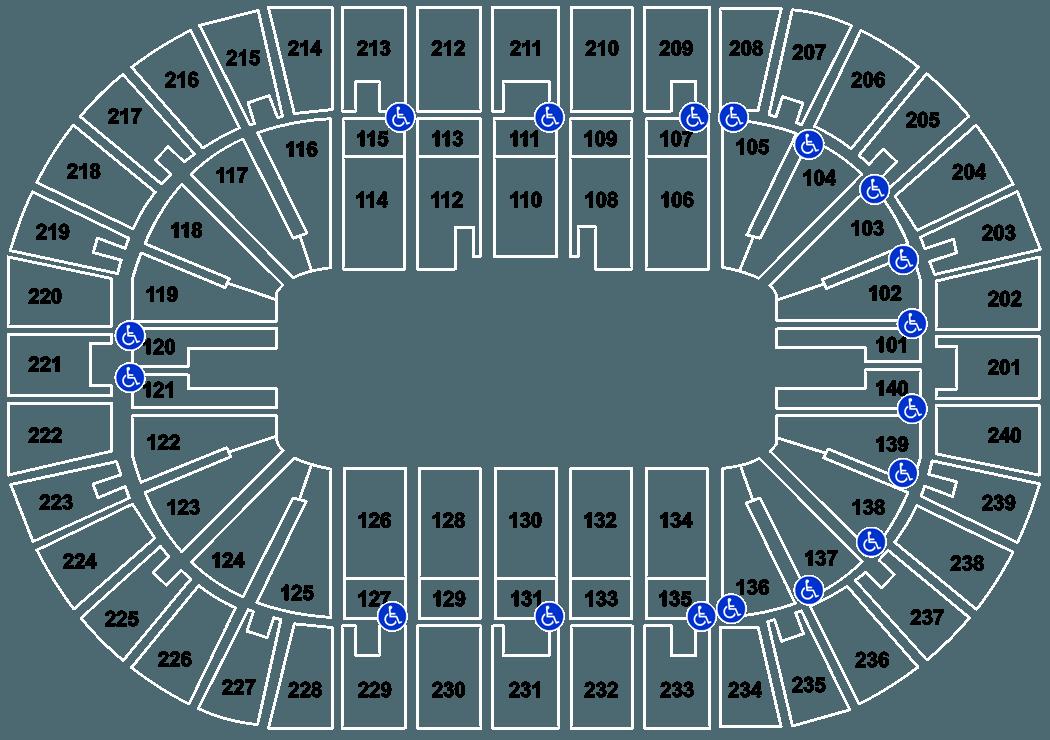 Cincinnati Cyclones Vs Kalamazoo Wings Tickets US Bank Arena - Map us bank arena