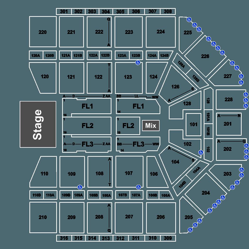 Van Andel Arena Events 2020.Reba Mcentire In Grand Rapids At Van Andel Arena On Sat May