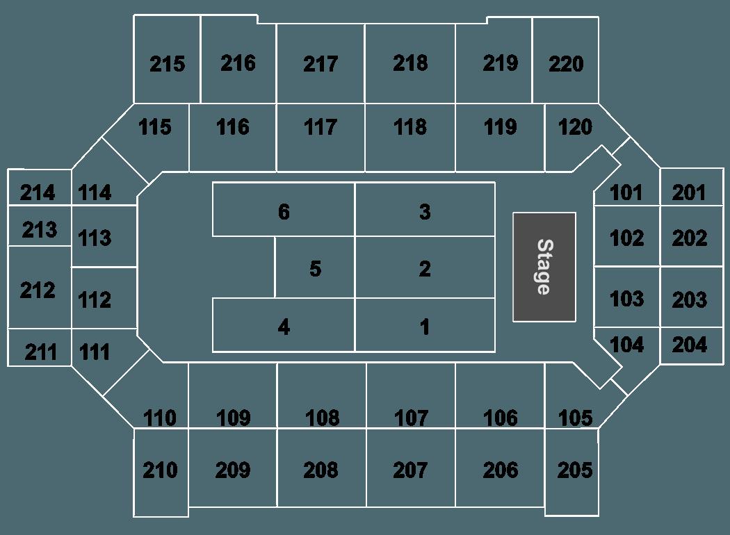 Def Leppard Broadmoor World Arena Tickets Colorado Springs 5292017 – Map World Arena Colorado Springs